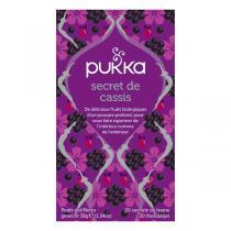 Pukka - Tisane Secret de Cassis bio - 20 sachets