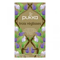 Pukka - Tisane Trois Réglisses bio - 20 sachets