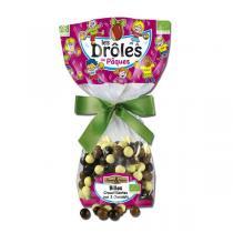 Saveurs & Nature - Sachet de billes 3 chocolats 100g