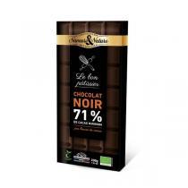 Saveurs & Nature - Chocolat pâtisser noir 71% de cacao 200g