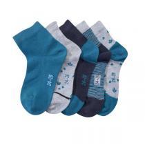 Tex Baby - 5 Paires de Chaussettes fantaisies - Tigre - 0 à 36 mois