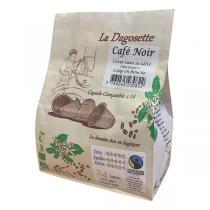 Torréfaction Dagobert - Dagosette Café Noir bio et équitable - 24 capsules