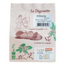 Torréfaction Dagobert - Dagosette Pérou bio et Demeter - 24 capsules