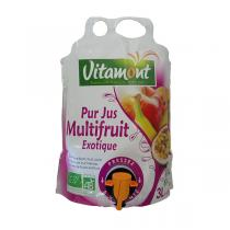 Vitamont - Pur jus Multifruit Exotique bio - 3 l