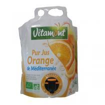 Vitamont - Pur jus Orange de Méditerranée bio - 3 l