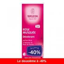 Weleda - Lot de 2 x Déodorant à la Rose 100ml