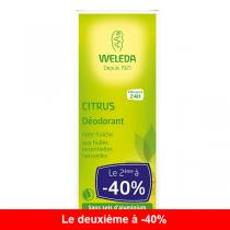 Weleda - Lot de 2 x Déodorant au Citrus 100ml