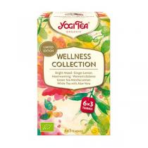 Yogi Tea - Coffret Infusions Wellness Collection 6 x 3 sachets