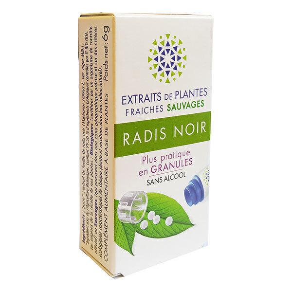 Kosmeo B - Radis Noir sauvage Granules Sans Alcool