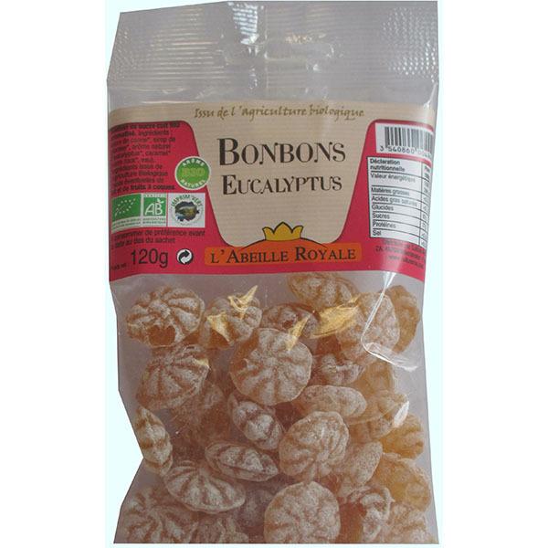 Abeille Royale - Bonbons Eucalyptus BIO sachet 120 g