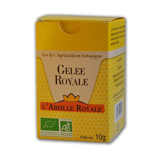 Abeille Royale - Gelée royale BIO boite 10 g