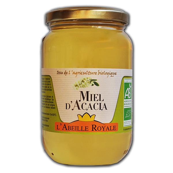 Abeille Royale - Miel d'Acacia BIO verre 375 g
