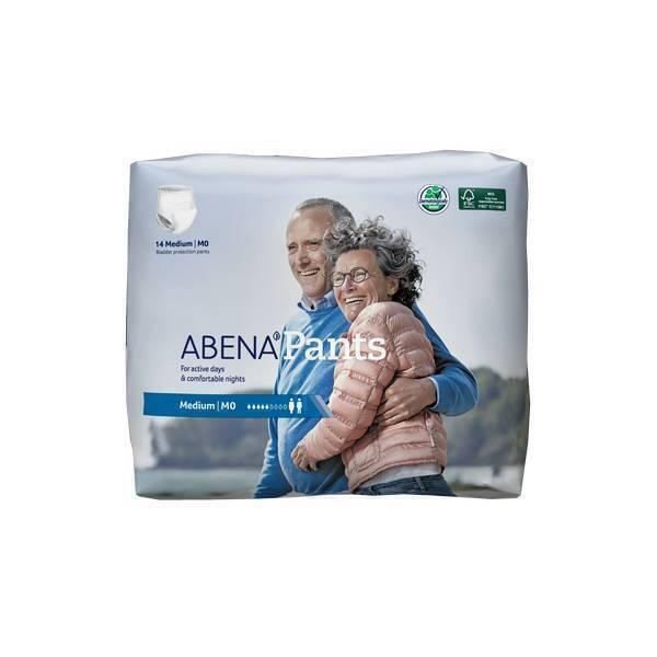 Abena - 14 Couches adultes Pants M0 - Incontinence légère