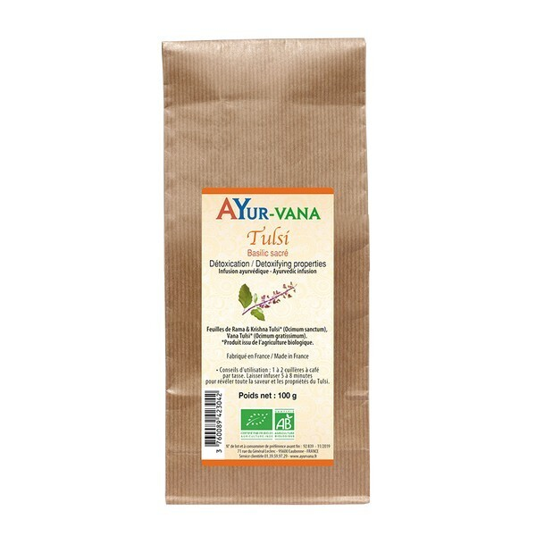 Ayur-Vana - Infusion Tulsi bio - 100 g