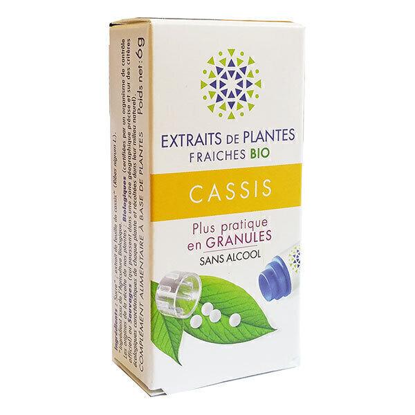 Kosmeo B - Cassis Bio Granules Sans Alcool
