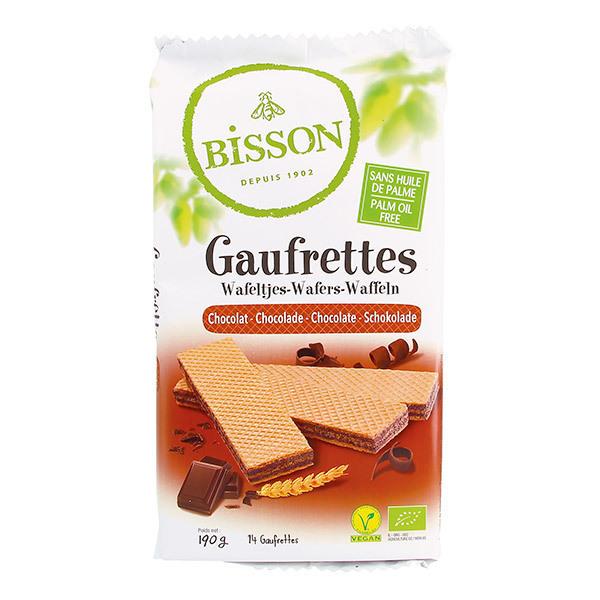 Bisson - Gaufrettes chocolat 190g