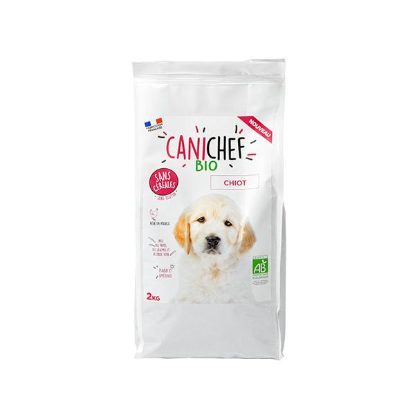 Canichef - Croquettes bio sans céréales chiot 2kg