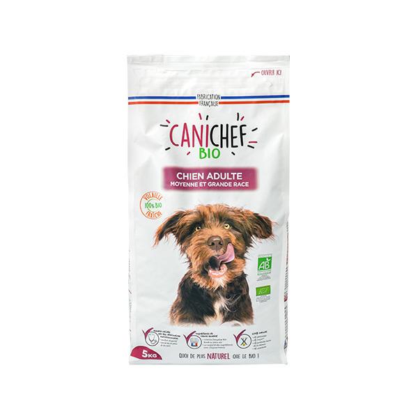 Canichef - Croquettes pour chien adulte Volaille 5kg