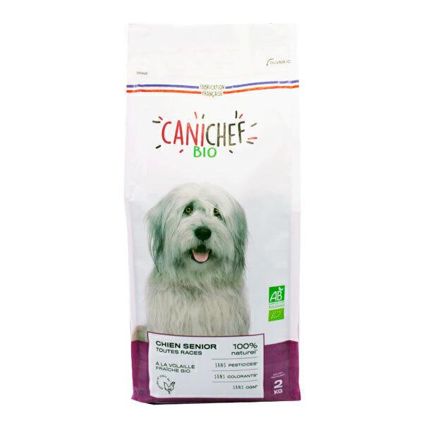 Canichef - Croquettes pour chien senior Volaille 2kg