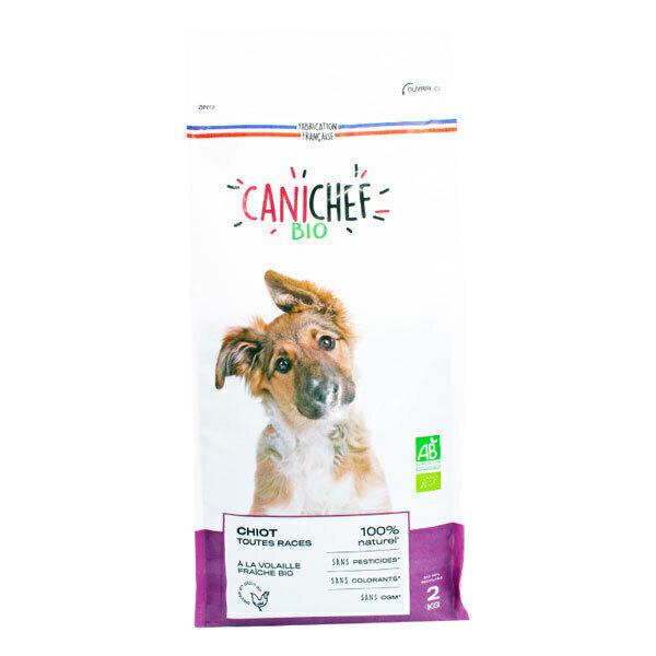Canichef - Croquettes pour chiot Volaille 2kg