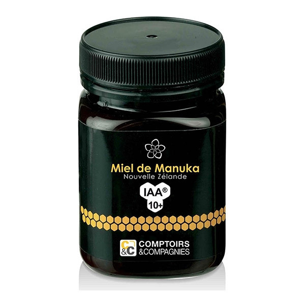 Comptoirs et Compagnies - Miel de Manuka IAA 10+ (MGO 263) - Pot de 500g