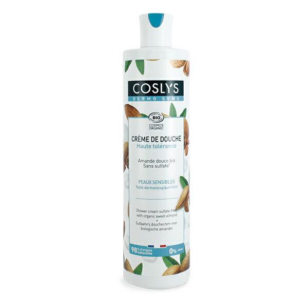 Coslys - Crème de douche Amande douce bio sans sulfate - 380 ml