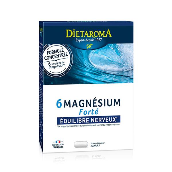 Dietaroma - 6 Magnésium Forté - 30 comprimés