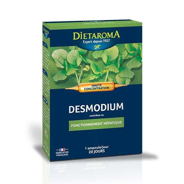 Dietaroma - Desmodium 2300mg x 20 ampoules de 10mL