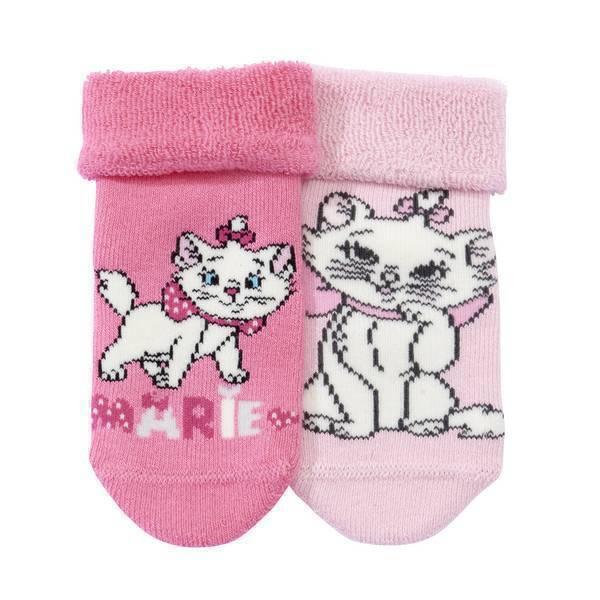 Disney Baby - 2 Paires - Chaussettes roses Marie - 0 à 18 mois
