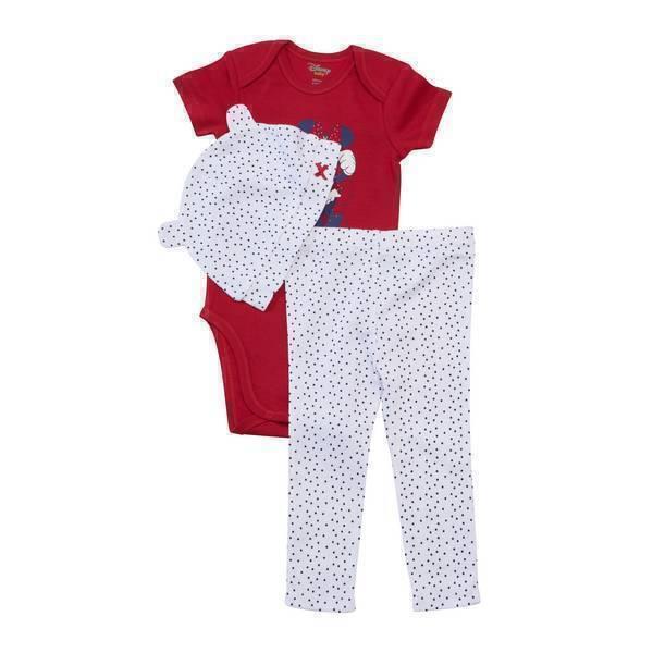 Disney Baby - Ensemble 3 pièces - Minnie - 9 à 24 mois