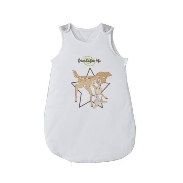 gigoteuse blanche et grise bambi 0 6 mois disney baby la r f rence bien. Black Bedroom Furniture Sets. Home Design Ideas