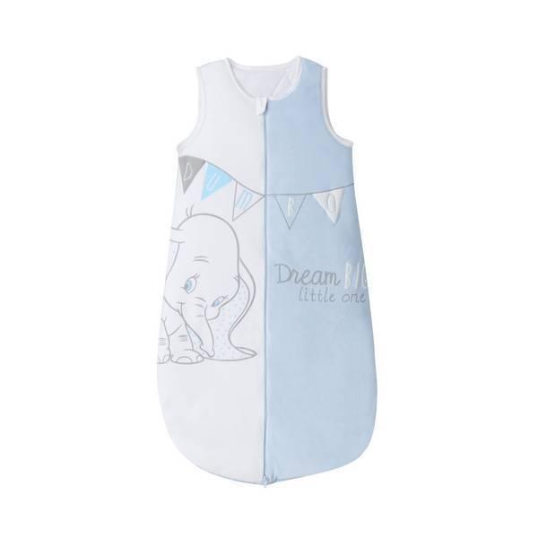 gigoteuse blanche et bleu dumbo 6 36 mois disney baby la r f rence bien. Black Bedroom Furniture Sets. Home Design Ideas
