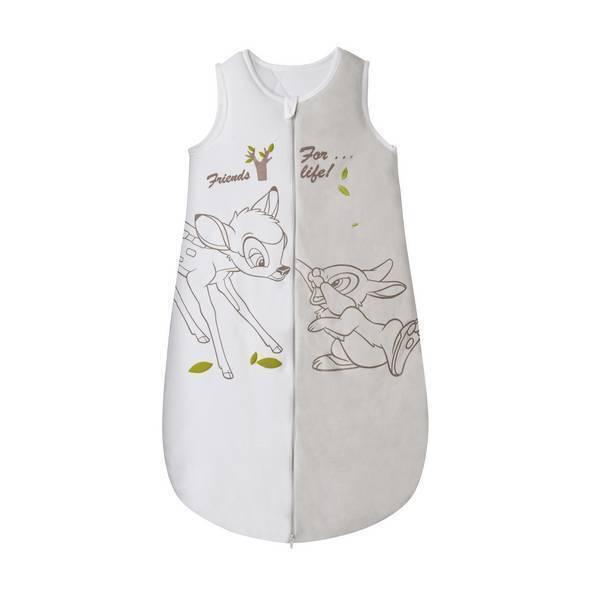 gigoteuse blanche et grise bambi 6 36 mois disney baby la r f rence bien. Black Bedroom Furniture Sets. Home Design Ideas