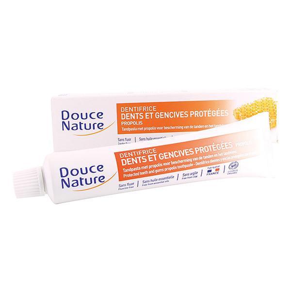 dentifrice propolis dents et gencives prot g es bio 75 ml douce nature acheter sur. Black Bedroom Furniture Sets. Home Design Ideas