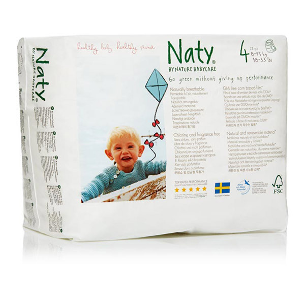 Eco by Naty - Lot 6 x 22 Culottes d'apprentissage MaxiMaxi+ 8-15 kg