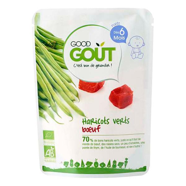 Good Gout - Haricots Vert Boeuf dès 6 mois - Sachet de 190g