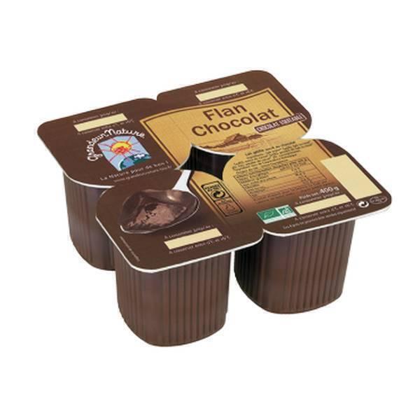 Grandeur Nature - Flan au chocolat 4x100g