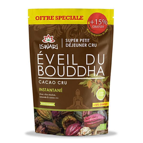 Iswari - Eveil du Bouddha Cacao Cru - Offre Spéciale 15% OFFERT