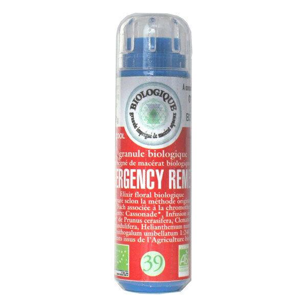 Kosmeo B - Emergency Remedy Situations d'urgence Granules Sans Alcool