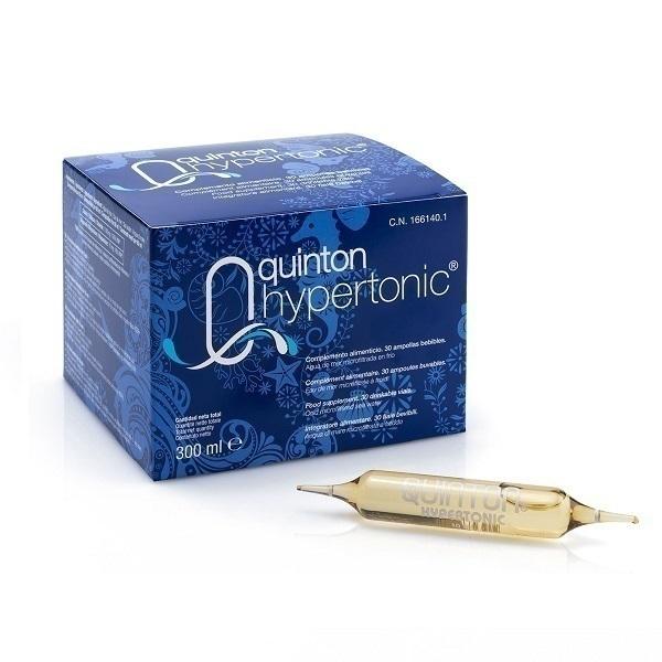 Laboratoires Quinton - Lot de 3 x Quinton Hypertonic - 3x 30 Ampoules