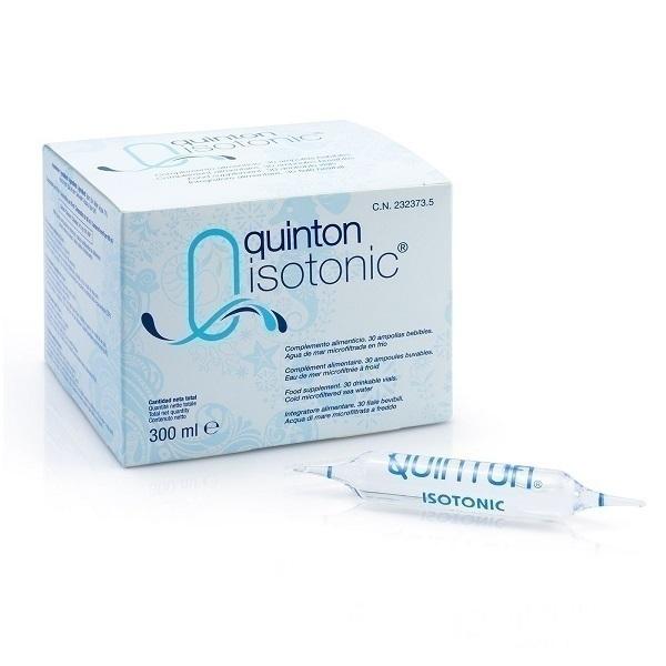 Laboratoires Quinton - Lot de 3 x Quinton Isotonic - 3 x 30 Ampoules
