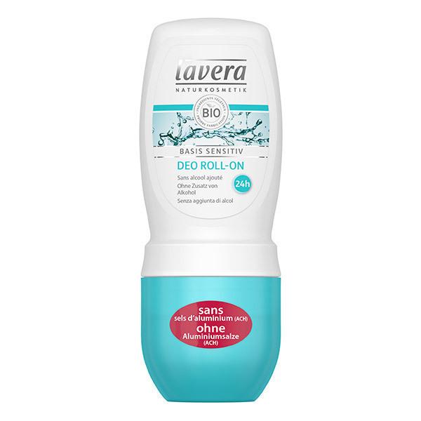 Lavera - Déodorant Basis sensitiv - roll-on de 50 ml