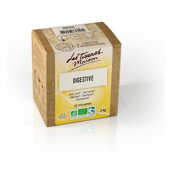 Tisane digestive bio 20 infusettes le comptoir d 39 herboristerie acheter sur - Le comptoir d herboristerie ...
