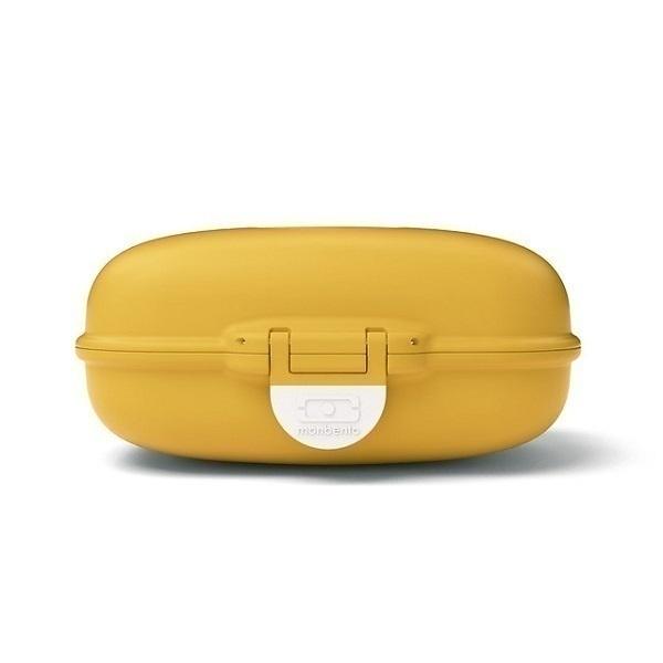 monbento - Boîte à goûter MB Gram Moutarde