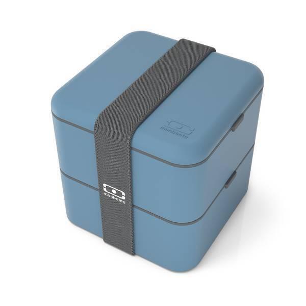 monbento - Boîte bento carrée MB Square Denim 1,7L