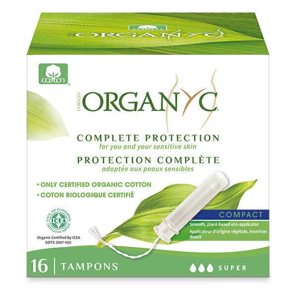 Organyc - Tampon compact Super applicateur x 16