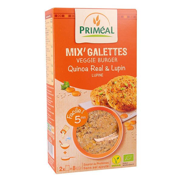 Priméal - Mix' galettes quinoa & lupin 250g