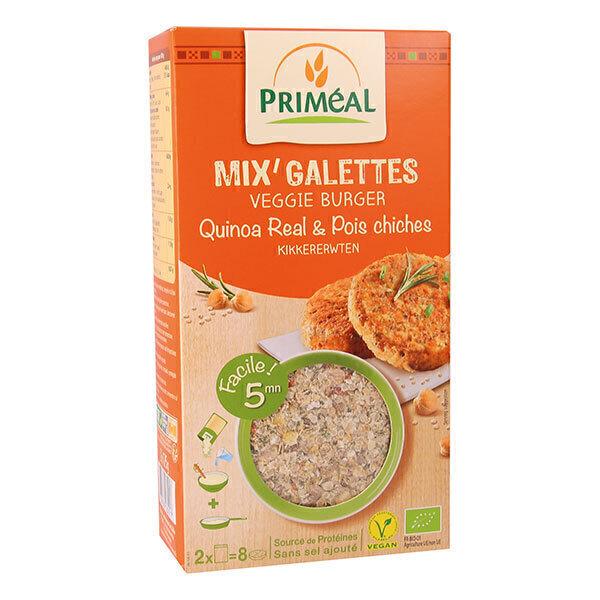 Priméal - Mix' galettes quinoa & pois chiches 250g