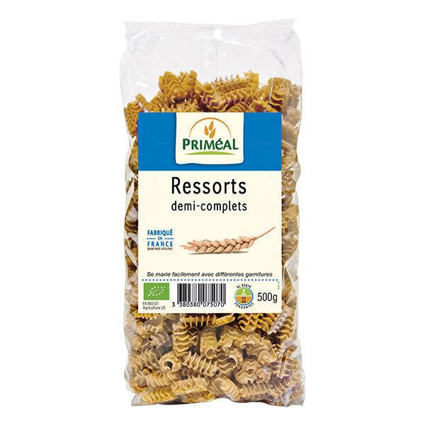 Priméal - Pâtes Ressorts demi complets 500g