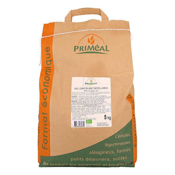 Priméal - Riz long blanc incollable 5kg